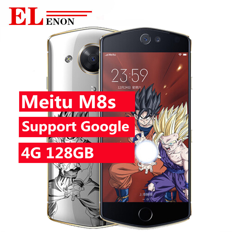 Meitu Helio X27mt6797x M8S Smartphone 64gb LTE/GSM/WCDMA Quick Charge 3.0 Bluetooth 5.0