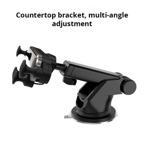 Image 3 - Bonola Telescopic Phone Car Holder Gravity Linkage Handy Car Phone Holder Small Mobile Phone Navigation Stand In The Car
