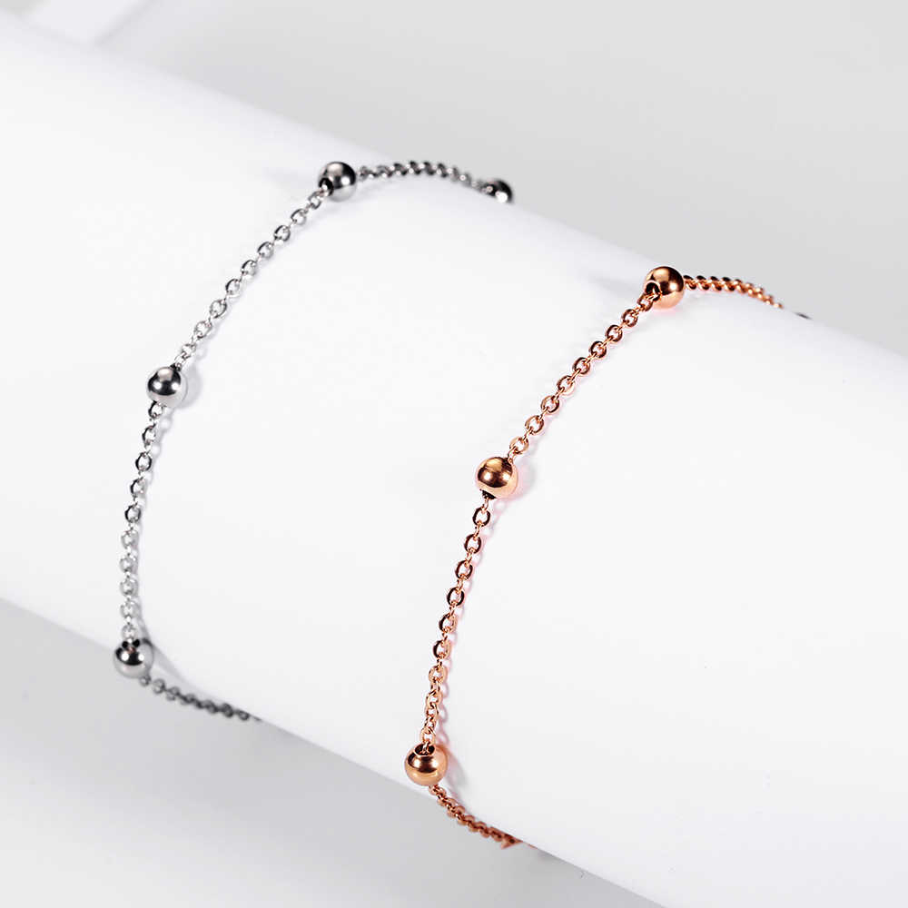 XUANHUA Stainless Steel Jewelry Rose Gold Charm Steel Ball Bracelets Bangles For Women Vogue 2019 Jewelry Accessories