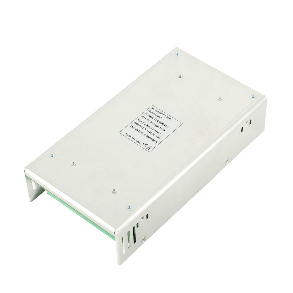 Contrôleur de Charge et de décharge solaire PowMr MPPT 60A 50A 40A 30A 12 V 24 V 36 V 48 VAuto pour batterie au Lithium au plomb PV 190VDC Max - 6