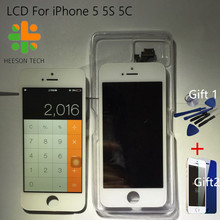 100{e3d350071c40193912450e1a13ff03f7642a6c64c69061e3737cf155110b056f} prueba de pantalla negro blanco marca para iphone 5 5s 5c pantalla lcd touch screen reemplazo digitalizador asamblea