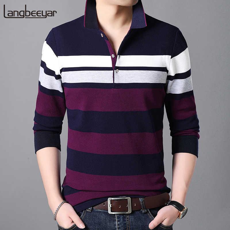 01e3f132 2019 New Fashion Brands Polo Shirt Men Turndown Collar Slim Fit Mens Polo  Shirts With Short