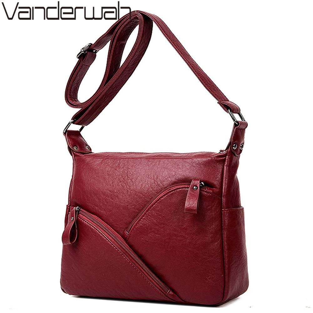 Women Bags Leather Bags 2018 Fashion Zipper Women Handbags High Quality Sheepskin Shoulder Bag Ladies messenger bag Sac A Main недорго, оригинальная цена
