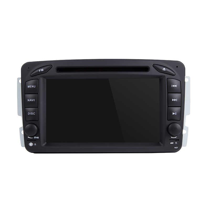 2 din 7-дюймовый dvd-плеер автомобиля для Mercedes Benz W209 W203 W168 ML W163 W463 Viano W639 Vito Vaneo 4g gps BT Радио USB SD Cam карта