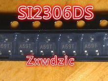 50pcs SI2306DS SOT23 SI2306 SMD  SOT-23 new and original 50pcs dw01 sot23 6