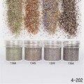 1 Caja de 10 ml Brillante Glitter Powder Decoración de Uñas Mate Polvo Destellos