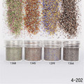 1Box 10ml Shiny Glitter Powder Matte Sparkles Powder Nail Art Decorations