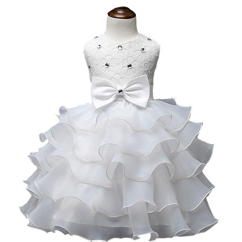 2016 baby girl children frilly princess dresses for girls for Dresses for girls for wedding