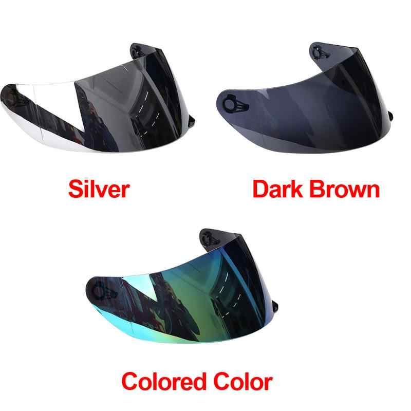 5e8953cc ... Universal UV Protected Front Flip Up Helmet Visor Full Face Motorcycle  Helmet Shield Parts Original Glasses ...