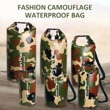 Открытый Дрифтинг пляжная Сеть ПВХ Сумка водонепроницаемая сумка для плавания вверх по тесту пакет мешок камуфляж вверх