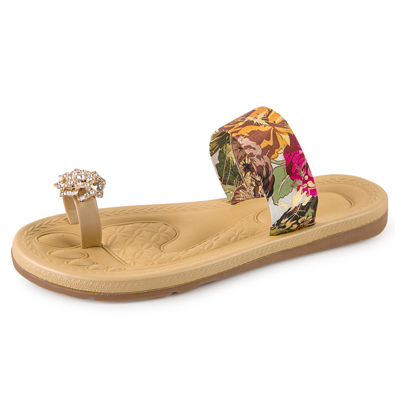مايا 2017 النساء الصنادل الصيف أحذية النساء نعال شاطئ المرأة الوجه يتخبط Zapatillas موهير Scarpe Zapatos موهير-في صنادل بإصبع من أحذية على  مجموعة 1