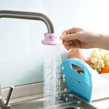 цена на Cartoon faucet sprinkler faucet water purifier kitchen splash-proof household tap water filter