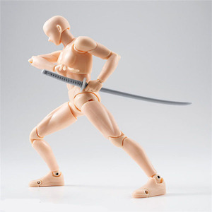 Image 4 - 14cm Male Female Movable body chan joint Action Figure Toys artist Art painting Anime model SHF Mannequin bjd Art Sketch Draw