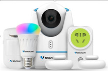 Vstarcam Smart Home Camera Kit App Remote Control Home Appliance cheap 2 Channels Slot other Ready-to-Go anoly