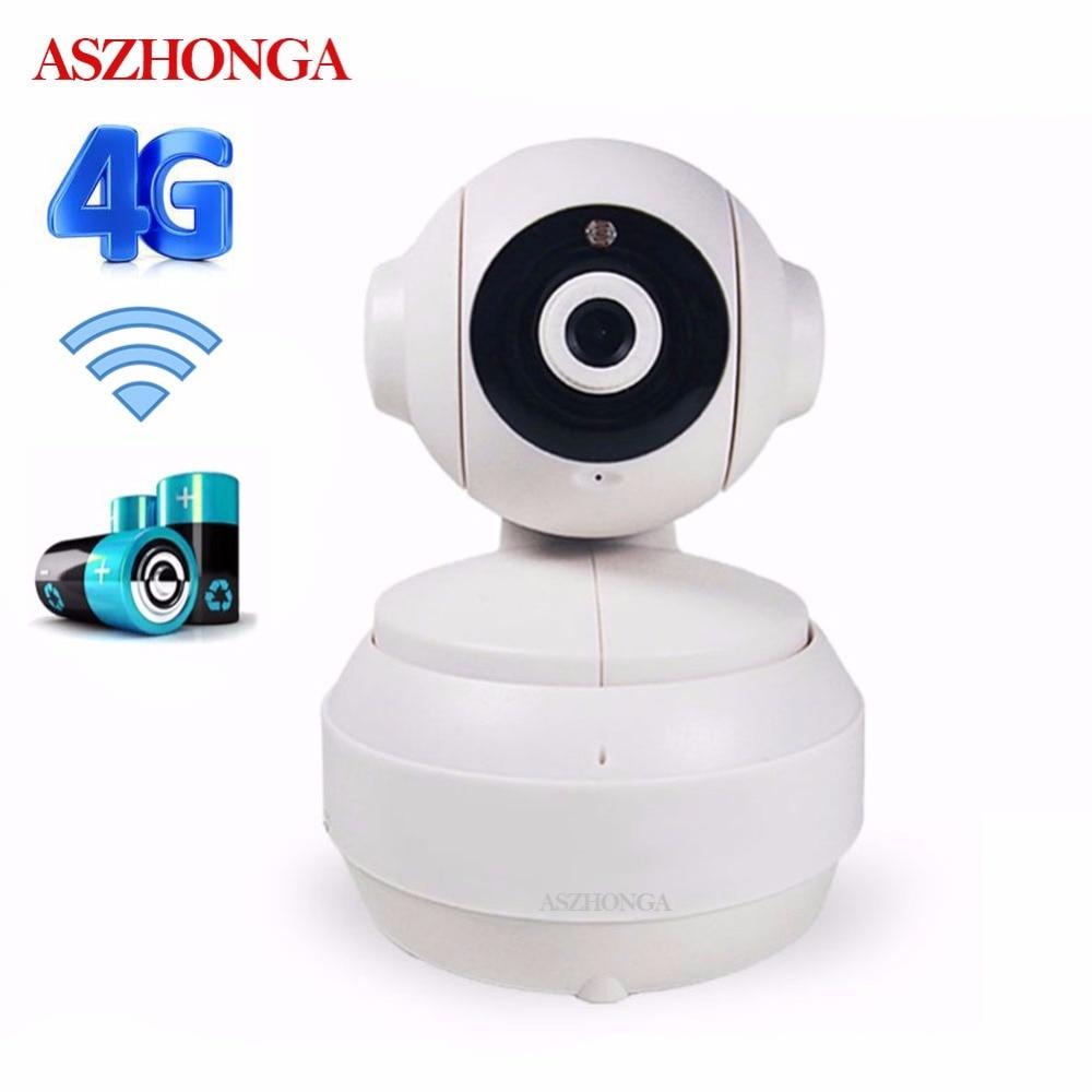 IP Caméra CCTV de Sécurité 3G 4G GSM Carte SIM 1080 P 960 P HD PTZ Sans Fil wi-fi P2P réseau IR Vidéo Bébé À La Maison Audio Batterie Caméra