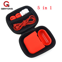 Headphone Protector Headset Cover For Apple AirPods Case For