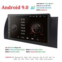 9''Big Screen 2GB RAM 16GB ROM Android 9.0 Quad 4 Core CAR STEREO for BMW E39 M5 X5 E53+HD 1024X600+DVR/WIFI+DSP+DAB+4G TPMS RDS