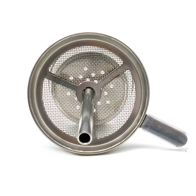 Hookah Shisha Charcoal Screen Holder With Handle Narguile Tobacco Bowl Accessories Gadget LM-712