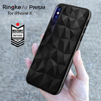 Ringke Air Prism Case For IPhone X Case Flexible TPU 3D Diamond Design Micro Cushion Protection