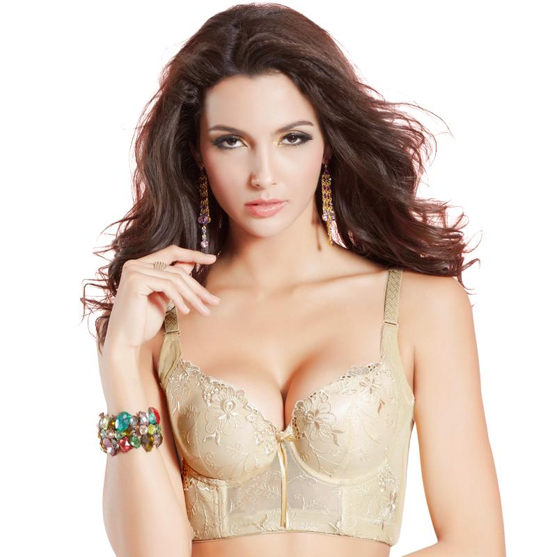 d1c5650119 2015 sexy lace cotton push up bra black Pink purple big size women bra sexy  75 to 90 B C cup intimate brassiere underwear -in Bras from Underwear ...