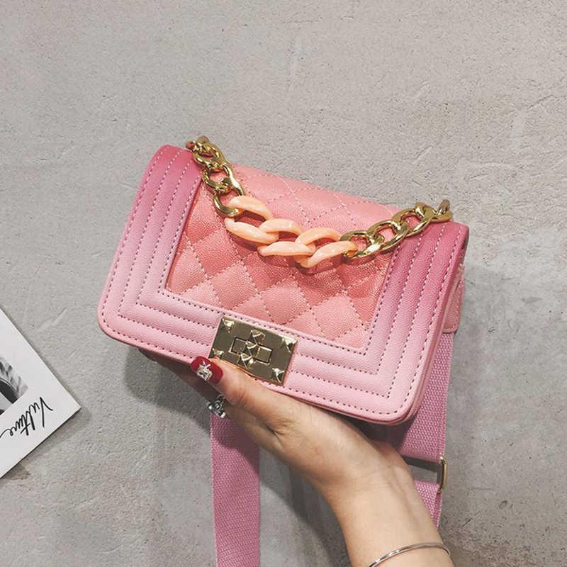 f511c25777 2019 new trend Crossbody women Bags High Quality Chain Ladies Women  Messenger Bag Designer Vintage Shoulder