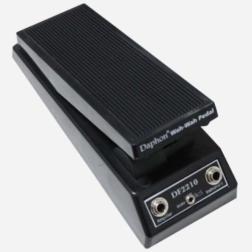 WAH WAH PEDAL - DAPHON Music DF2210 -ELECTRIC GUITAR PEDAL SWITCH PEDAL barbie wah