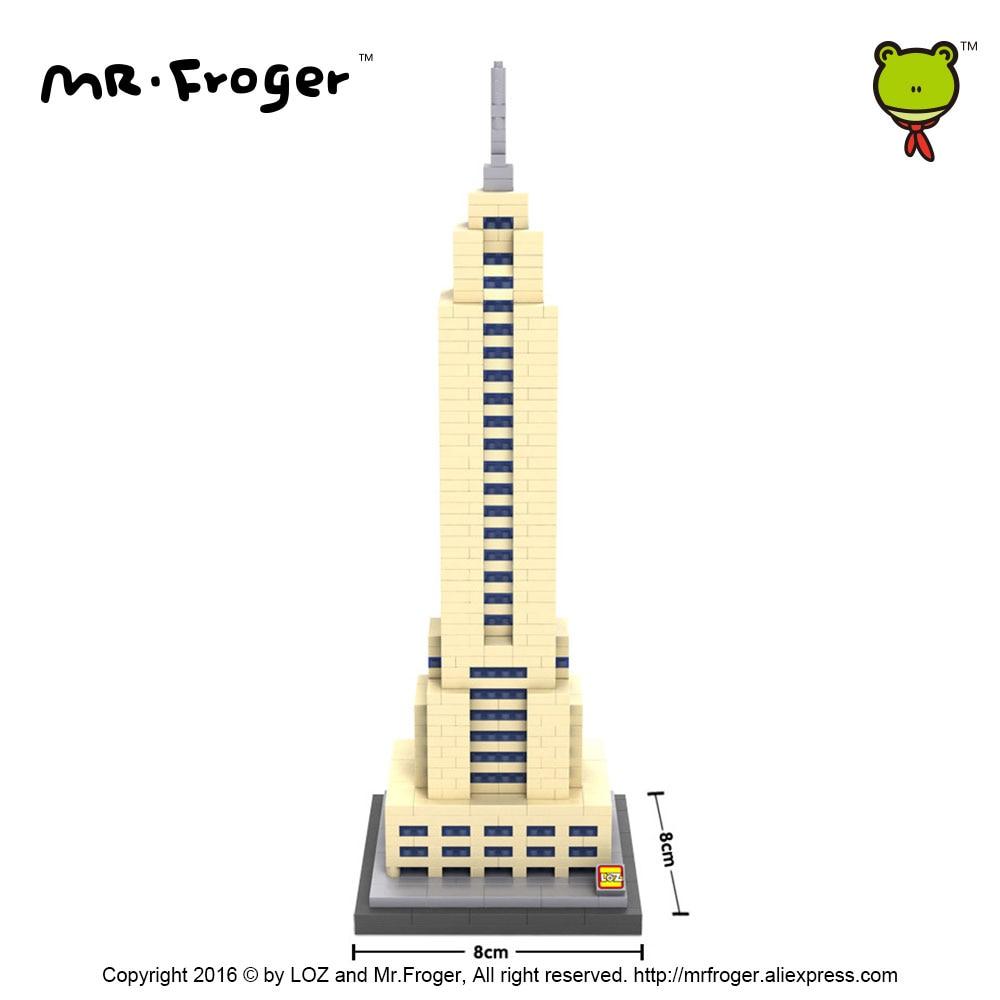 Mr.Froger LOZ Эмпайр Стейт Билдинг Даймонд - Дизайнерлер мен құрылыс ойыншықтары - фото 4