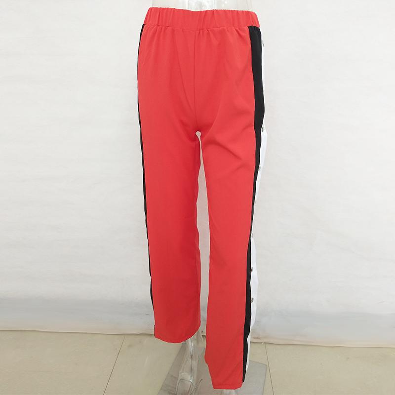 HTB1NgddSFXXXXakXVXXq6xXFXXX2 - Wide Leg Pants Side Split Women Pants High PTC 153