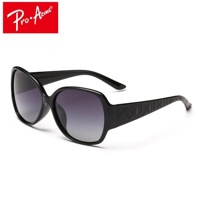 f72eaf2bbf PRO ACME Luxury Women Sunglasses Polarized Female Sun Glasses Vintage  Oversized glasses Shades Driving Glasses With Case AC0102