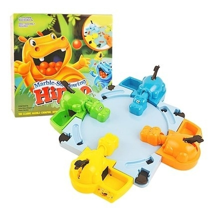 Popular Hungry Hippo Parent-child Table Game Marble-Swallowing Hippo Fun Parent Child Interaction Educational Toys for Kids gift