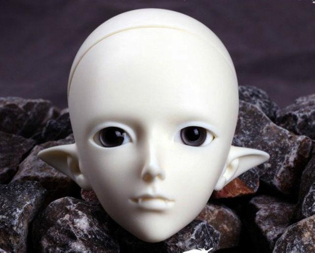 [wamami] AOD 1/4 BJD Dollfie Boy Doll Parts Single Head (Not Include Make-up)~Chi