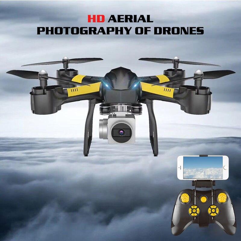 Smart Avancée Drone Wifi FPV 480 p/720 p/1080 p HD Caméra Stable Cardan Fixe Hauteur Voix opération One-touch D'atterrissage Quadcopter