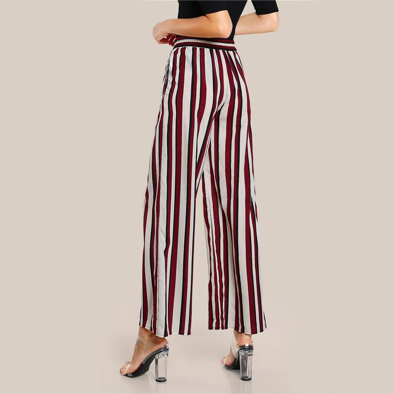 HTB1NgeOSVXXXXb1XpXXq6xXFXXXd - FREE SHIPPING Women Striped Pants Elastic Waist JKP103