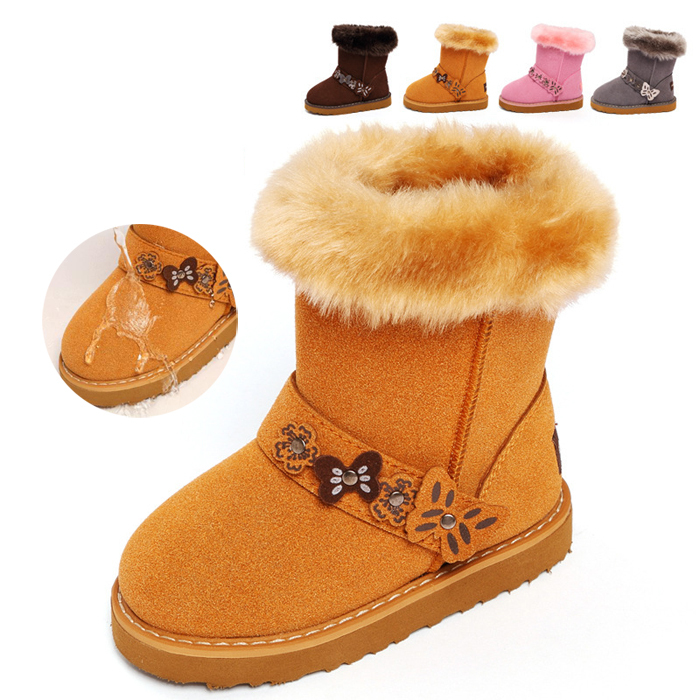 2017 Fashion children boots boys girls boots child snow boots kids boots soft plush breathable children shoes boys shoes new arrival fashion 2014 boys child boots child genuine leather boots snow boots children shoes 25 33