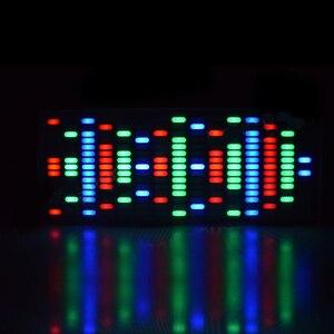 Image 2 - Bricolage grande taille contrôle tactile 225 Segment LED égaliseur numérique spectre de musique Kit dondes sonores