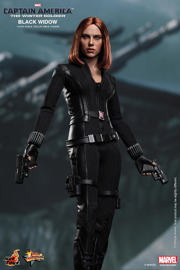"""Hottoys1/6th scale Scarlett Johansson Black Widow Ver3.0 Captain America The Winter Soldier 12"""" action figure doll Model toy"""