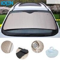 140CM 70CM Thicken Aluminum Foil Car Summer Sucker Front Windshield Sunshade Auto Window Insulation Sunlight Block