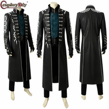 Cosplaydiy 5 Vergil Cosplay Costume Carnival Halloween Fancy Mysterious Man
