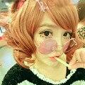 Tamanho grande Estilo Japonês Harajuku Colorido Lente Rodada Óculos De Sol Rua Fotografia Adereços Cosplay Sun Óculos Redondos Óculos De Sol