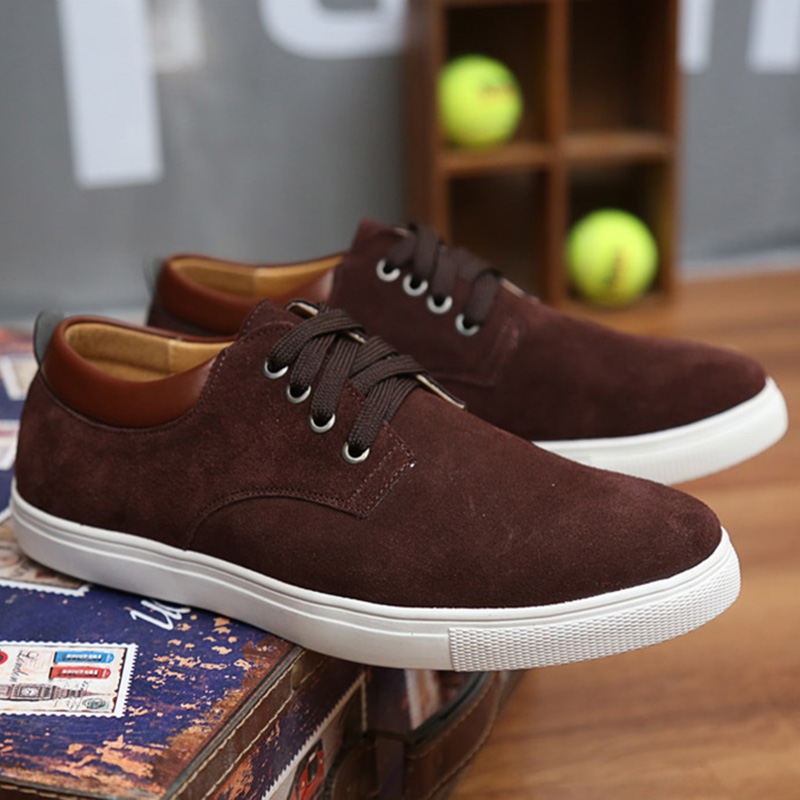 Mode blue Cuir Formateurs 2018 Taille Black Grande Automne brown De Sport Chaussures orange wine 263 No Casual Hommes Suede En Ivy7gb6Yf