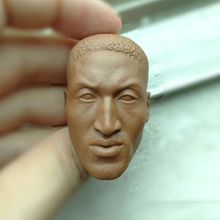 1 6 Dennis Rodman Unpainted Head Carving for 12  Action Figures Bodies( 2170be59036a
