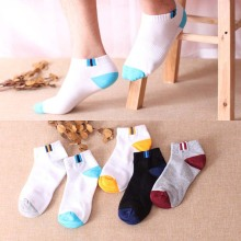 1 Pair Fashion New Arrival Men's socks Mesh breathable cotton Classical Quality Casual socks Moisture wicking 5 Color