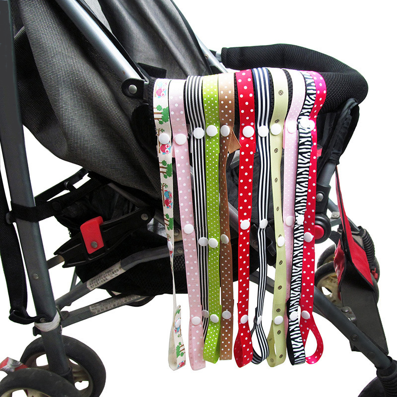 Mambobaby 5pcs/lot Baby Stroller Accessories Teether Pacifier Chain Anti-Drop Fixed Strap Holder Belt Toys Safety Leash Hook carolines treasures kj1139sh4 lhasa apso leash holder or key hook