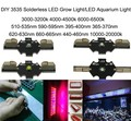 10pcs/lot Solderelss Green chip 3w grow light plant growth light aquarium light chip high power led lighting beads
