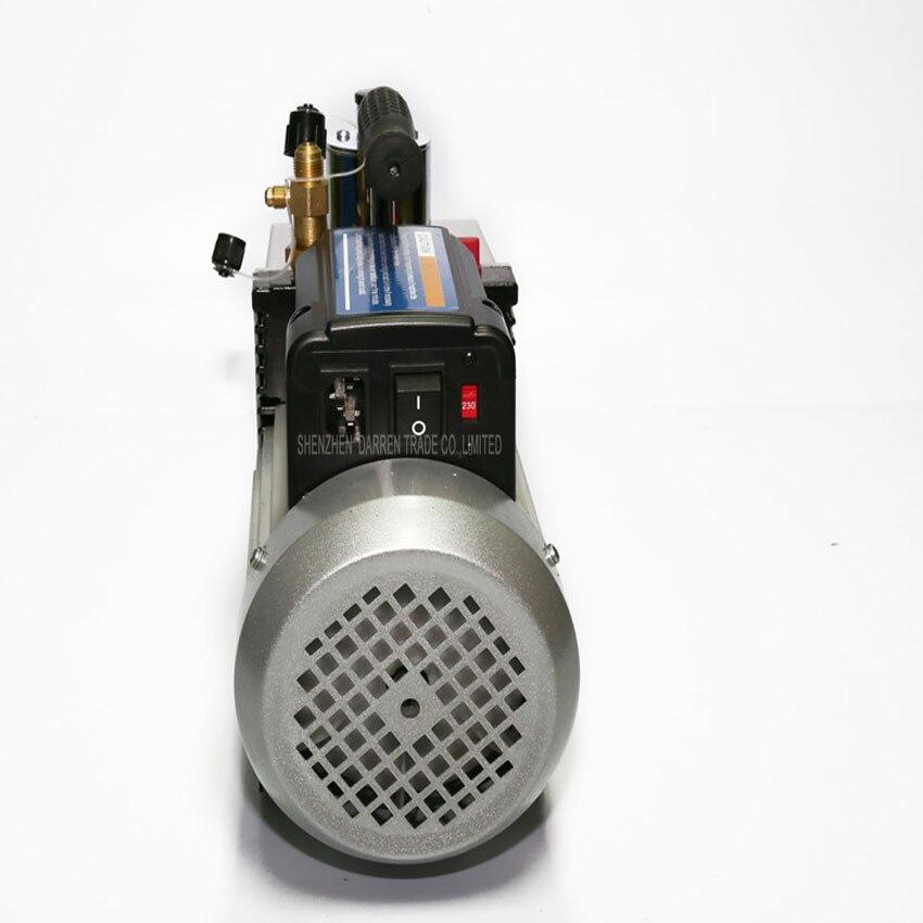 1 PC 100% Nova Marca e de Alta Qualidade bomba de vácuo Dupla voltagem 110 V 220 V 250 W Dupla frequência two stage com 1L - 3
