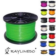 Glow In Dark Green Color 1Kilo/2.2Lb Quality ABS 1.75mm 3D Printer Filament 3D Printing Pen Materials