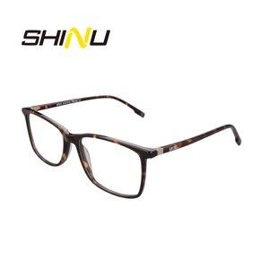 Image 4 - SHINU Brand Eyewear Multifocal Progressive Reading Glasses Diopter Eyeglasses For Near And Far Distance Acetate Optical Glasses