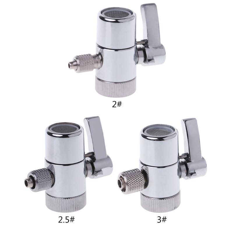 Water Filter Faucet Diverter Valve Ro System 1/4