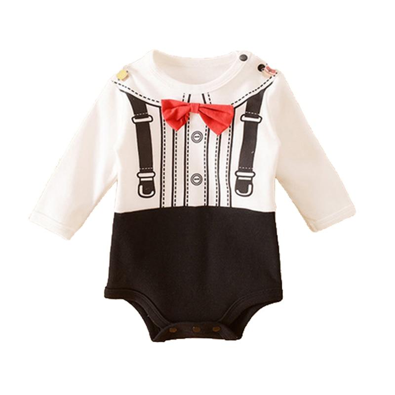 Toddler Baby Boy Romper Newborn Baby Boy Clothes Cartoon: baby clothing designers
