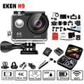 4 K 100% H9 H9R Action camera EK 4K/25fps 1080 P 60fps 2.0 LCD 170D camera WiFi pro Helmet Camera go waterproof sport camera